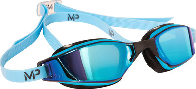 Xceed Multilayer Blue Lens Blue/Black zwembril