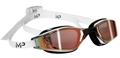 Xceed Multilayer Gold Lens White/Black zwembril