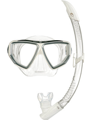 Snorkelset Oyster LX + Airflex Purge LX Arctic White